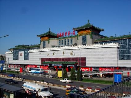 hong qiao market fall