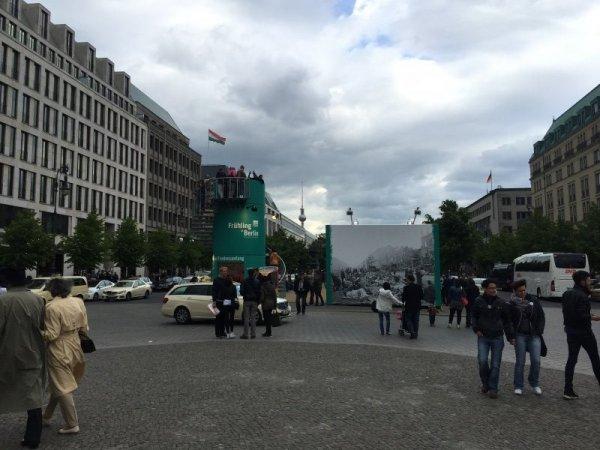Looking towards Alexander Platz