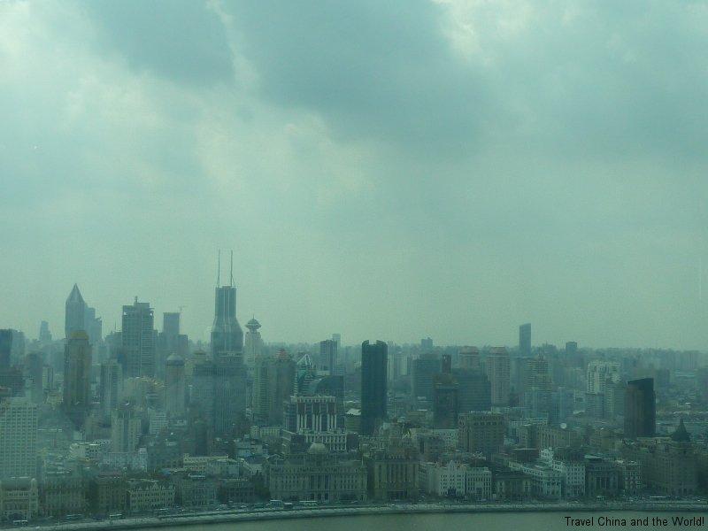 shanghaiviewofbundfrompudong