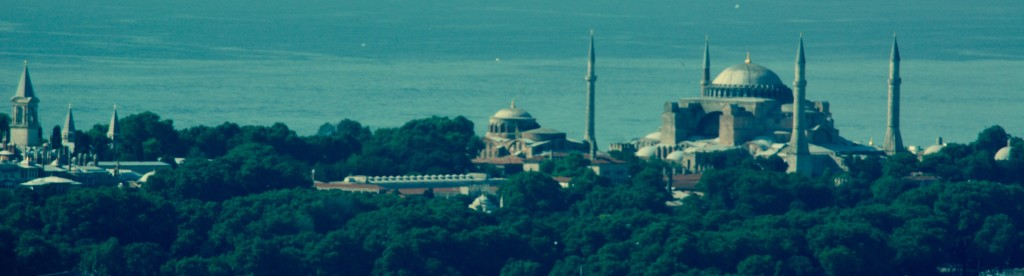 Turkey-Istanbul-Topkapi-Hagia-Sophia
