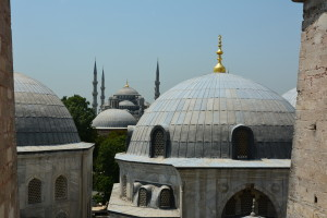 Hagia Sophia to Blue Mosque