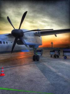 Brussels-Hannover-plane